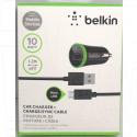 Автомобильная зарядка на USB/2.1 A + кабель microUSB Belkin