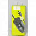 Автомобильная зарядка на USB/2.4 A + кабель microUSB Hoco. Z17
