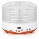 Электросушилка BBK BDH204D бело-оранжевая