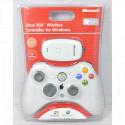 Беспроводной геймпад XBOX 360 + PC белый Refabrished