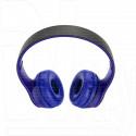 Гарнитура полноразмерная Borofone BO4 (Bluetooth, microSD) синяя