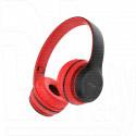 Гарнитура полноразмерная Borofone BO4 (Bluetooth, microSD) красная