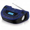 Магнитола BBK USB BS07BT темно-синяя (Bluetooth)