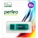 USB Flash 32Gb Perfeo C13 зеленая