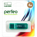 USB Flash 4Gb Perfeo С13 зеленая