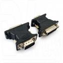 Переходник VGA (M) - DVI (F) Cablexpert