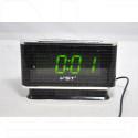 Часы настольные VST 721-2 зеленые цифры