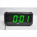 VST 806-4 часы настольные с ярко-зелеными цифрами