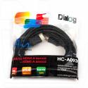 Кабель HDMI - HDMI PRO 3 м Dialog в пакете