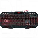 Клавиатура игровая Defender Doom Keeper GK-100DL черная с подсветкой