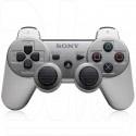 Джойстик PS3 серебряный
