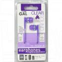 Наушники GAL M-005V-F фиолетовые