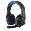 Gembird MHS-G205 гарнитура игровая черно-синяя