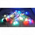 Гирлянда уличная цветная 8м шарики