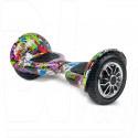 Smart Balance Wheel SUV 10 Граффити фиолетовый