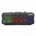 Клавиатура игровая Гарнизон GK-330G черная с подсветкой