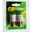 GP Super LR14 BL2 упаковка 2шт