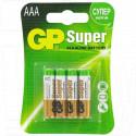 GP Super LR03 BL4 упаковка 4шт