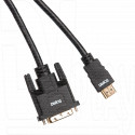 Кабель HDMI - DVI 5 м Dialog