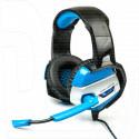 Dialog Gan-Kata HGK-37L гарнитура игровая черно-синяя с подсветкой