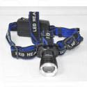 Налобный фонарь аккумуляторный HL-022 Т6