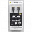 Кабель HDMI - HDMI 1,8 м в оплетке, блистер