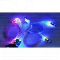 Кабель USB A - iPhone 5 (1 м) с подсветкой