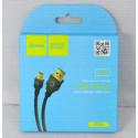 Кабель USB A - mini USB B (1 м) Dream BK06