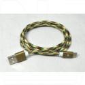 Кабель USB A - USB Type-C (1,2 м) в оплетке