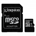 microSDHC 16Gb Kingston Class 10 UHS-I с адаптером