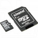 microSDHC 32Gb Kingston Class 10 UHS-I с адаптером