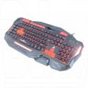 Клавиатура игровая Xtrike Me GK-901 металл с подсветкой