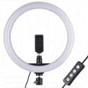 Кольцевая светодиодная селфи лампа 30 см