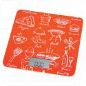 Электронные весы кухонные BBK KS108G оранжевые