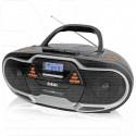 Магнитола BBK BX518BT черная (Bluetooth)