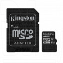 microSDHC 16Gb Kingston Class 10 UHS-I U1 с адаптером