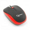 Мышь беспроводная Gembird MUSW-215-R черно-красная