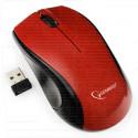 Мышь беспроводная Gembird MUSW-320-R красная