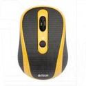 Мышь беспроводная A4Tech G9-250-3 черно-желтая