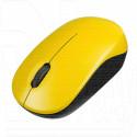 Мышь беспроводная Perfeo Sky желтая