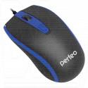 Мышь Perfeo Profil черно-синяя