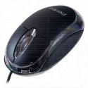 Мышь Perfeo Glow черная с подсветкой
