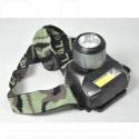 Налобный фонарь аккумуляторный H-386 + COB