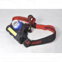 Налобный фонарь аккумуляторный HT-835 + COB
