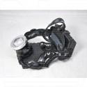 Налобный фонарь аккумуляторный HT-839-P70 (белый/теплый свет) (3*18650)