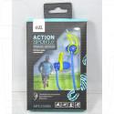 Наушники GAL MPS-2200bg сине-салатовые