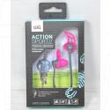 Наушники GAL MPS-2200pk серо-розовые
