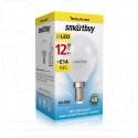 Светодиодная Лампа Smartbuy P45 Е14 12Вт теплый свет
