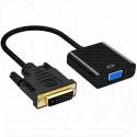 Переходник DVI-D (M) - VGA (F) (конвертер)