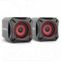 Perfeo Cube акустика 2.0 черная